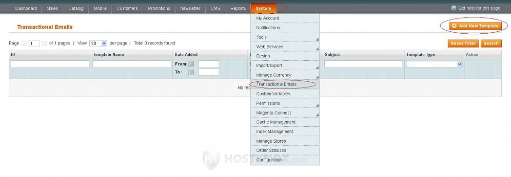 HostKnox :: Magento Email Templates Tutorial